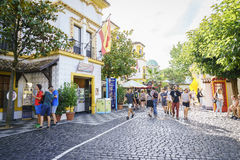 Spain themed area - Europa Park in Rust, Germany Royalty Free Stock Photo