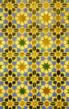 Spain - tiling in Mudejar style Royalty Free Stock Images