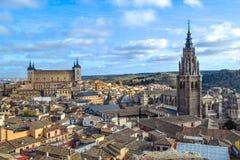 spain Toledo Obrazy Royalty Free