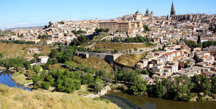 Spain. Toledo. Spain. Ancient city of Toledo. Toledo was the capital of Spain until 1561, and then gave way to the title to Madrid Stock Photo