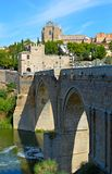 Spain Toledo Bridge (2) Stock Images