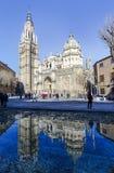 spain toledo Catedral Primada Santa Maria Royaltyfri Bild