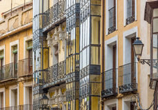 Spain, Toledo, facades of houses Royalty Free Stock Photography