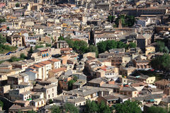 Spain.Toledo. Old town of Toledo, former capital city of Spain Stock Photography