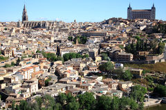 Spain.Toledo. Old town of Toledo, former capital city of Spain Royalty Free Stock Photos