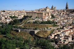 Spain.Toledo. Old town of Toledo, former capital city of Spain Royalty Free Stock Images