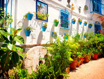 Spain. Torremolinos. White Village Stock Image