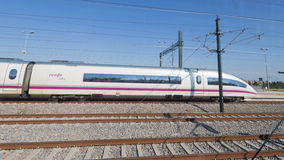Spain train speed, Figueira Stock Photo