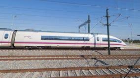 Spain train speed, Figueira Stock Photo