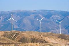 spain turbina wiatr Zdjęcia Stock