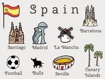 Spain vacation Stock Image