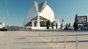 City of Arts and Sciences landmark. Valencia, Spain