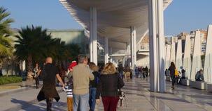 Spain valencia planetarium day light panporama 4k time lapse stock video footage