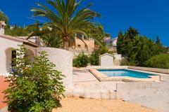 spain villa royaltyfri bild