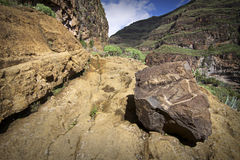 Spain: Walking in La Gomera island Stock Photography