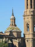 spain Zaragoza Arkivbilder