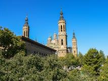 spain Zaragoza Royaltyfri Bild