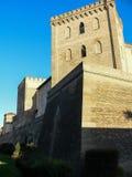 Spain. Zaragoza. Aljaferia Palace Royalty Free Stock Image