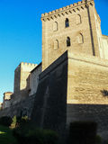 spain Zaragoza Aljaferia slott Royaltyfri Bild