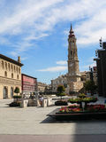 Spain. Zaragoza Royalty Free Stock Photography