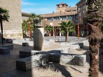 Spain. Zaragoza Royalty Free Stock Photo