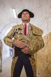 Spainish bullfighter Manuel Benitez El Cordobes totally focused Royalty Free Stock Image