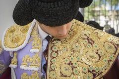 Spainish bullfighter Sebastian Castella putting itself the walk Royalty Free Stock Image