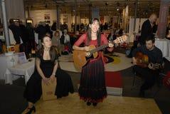 Spainish travel agency celebrate 50 hears in Denmark Stock Images