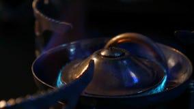Spalanie gaz naturalny zdjęcie wideo