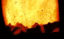 spalanie ogień fotografia stock