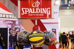 spalding的篮球 免版税库存照片