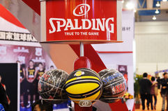 Spalding basketball Royalty Free Stock Photos