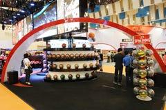 Spalding basketball Stock Photo