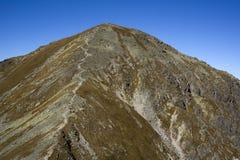 Spalena Peak in Western Tatras Stock Image
