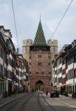 Spalentor门在巴塞尔,瑞士 免版税图库摄影