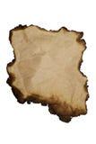 spalony papier Fotografia Royalty Free
