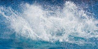 spalsh mórz oceanu zdjęcie royalty free