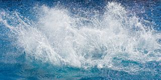 Spalsh in sea or ocean Royalty Free Stock Photo