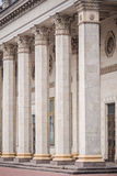 Spalte als Teil der Architektur und eines Symbols der Unterstützung Stockfotos