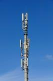 Spalte der beweglichen Telekommunikation lizenzfreie stockfotos