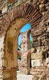 Spalte der Kirche von Str. Sophia Stockfotos