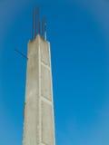 Spalte des Gebäudehauses Stockfoto