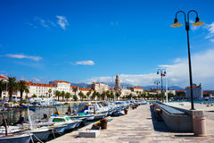 Spalte in Kroatien Stockbild