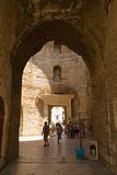 Spalte - Palast des Kaisers Diocletian stockbilder