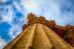 Spalte, Palast von schönen Künsten, SF, USA Stockfotografie