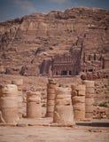 Spalte-Ruinen Stockbilder