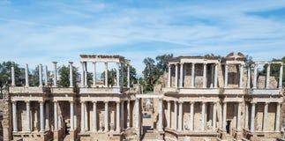Spalten Amphitheatre Lizenzfreie Stockfotos