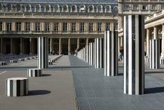 Spalten Daniel-Burens. Paris, Frankreich Stockfotografie