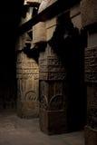 Spalten des hinduistischen Tempels Lizenzfreie Stockfotos