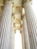 Spalten des Obersten Gerichts lizenzfreie stockfotografie